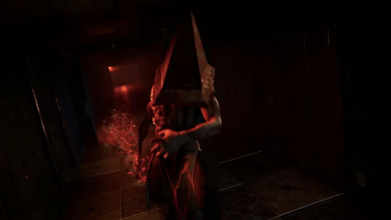 EL pyramid head de Silent Hill en Dead by Daylight