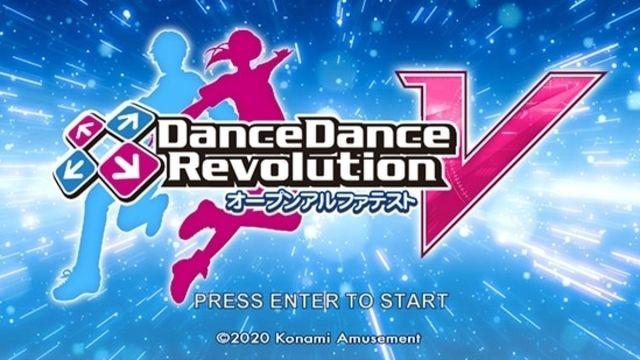 Dance Dance Revolution V Konami