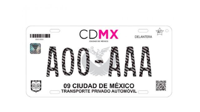 Emplacamiento Digital CDMX