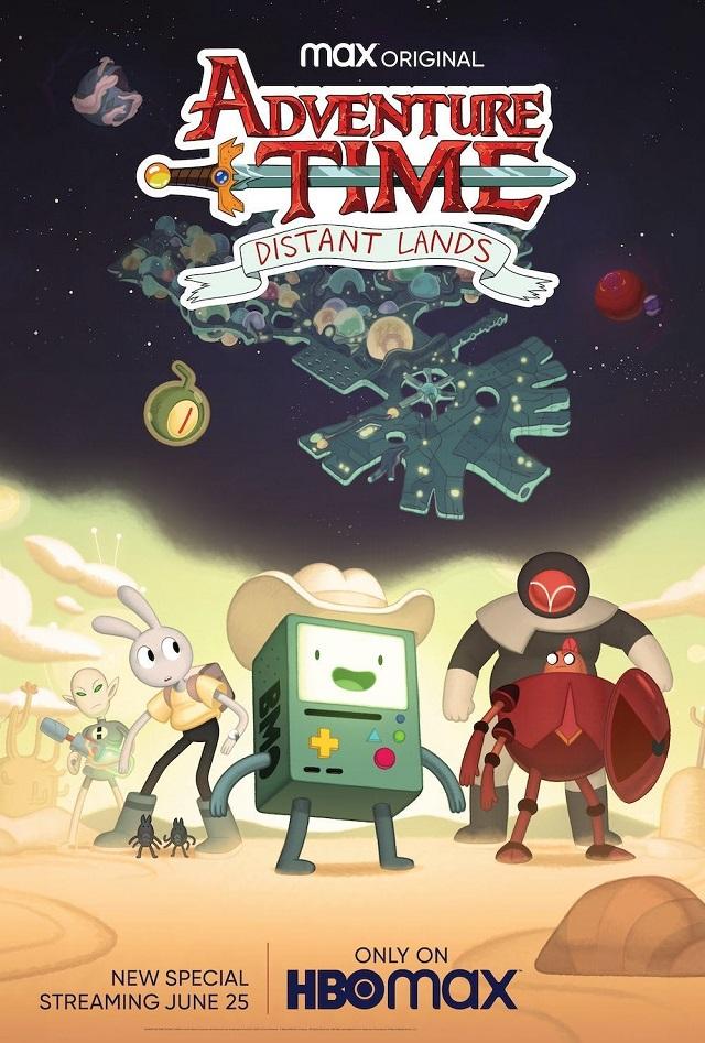 Póster Adventure Time Distant Lands