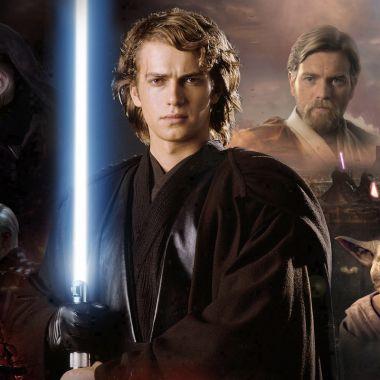Póster promocional de Revenge of the Sith