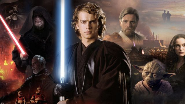 Póster promocional de Revenge of the Sith