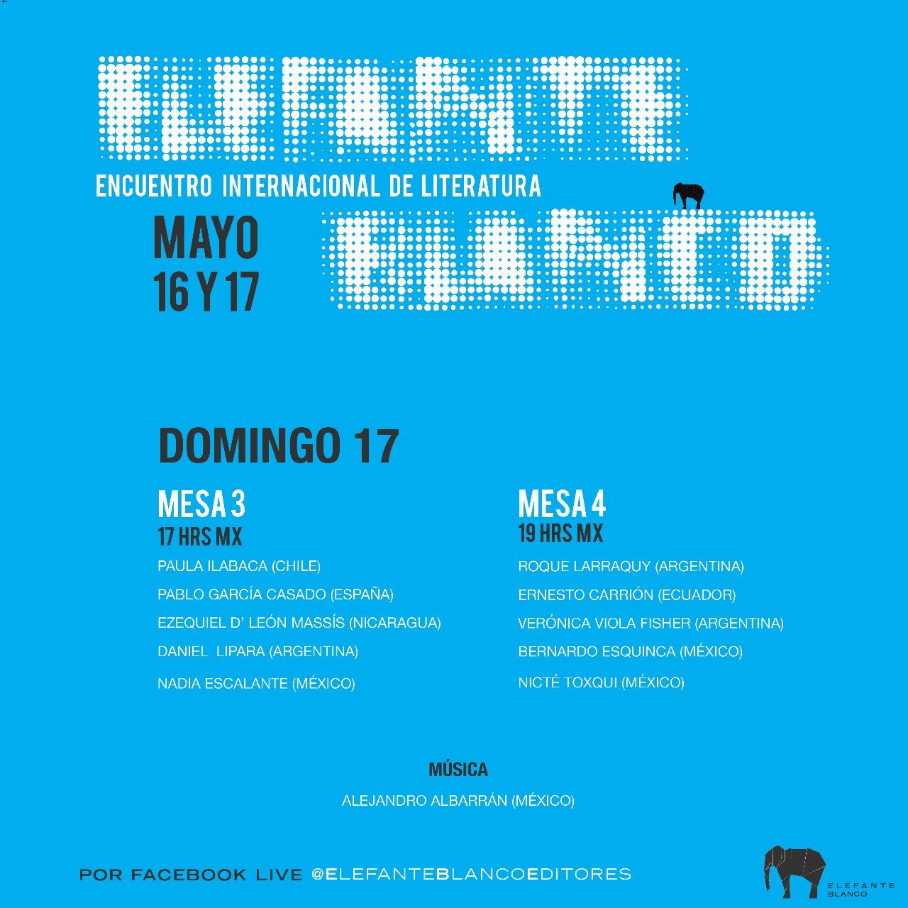 Elefante Blanco Encuentro Internacional Literatura