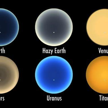 Atardecer Marte Venus NASA
