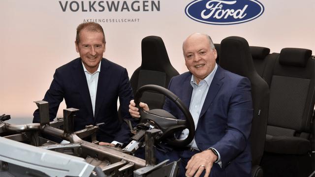 Ford y Volkswagen alianza
