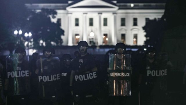 Fotos Búnker Casa Blanca Donald Trump