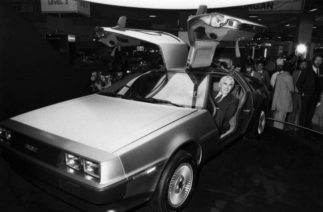 Historia DeLorean