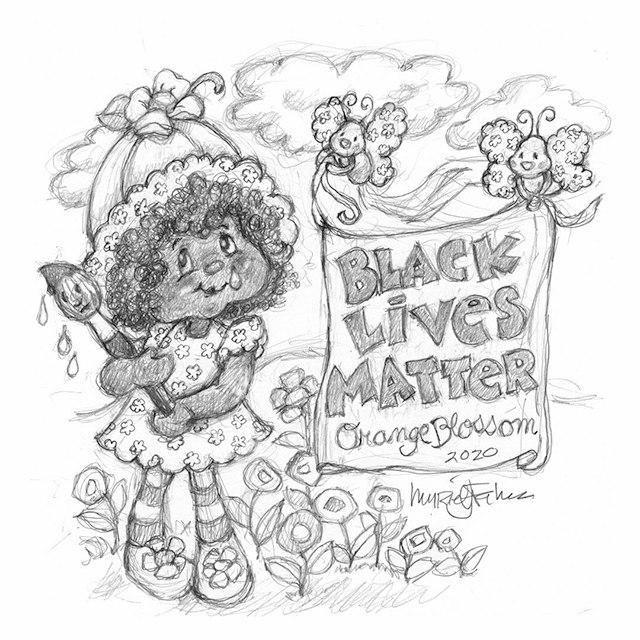Orange Blossom Black Lives Matter