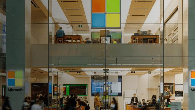 Microsoft cerrará todas sus tiendas físicas