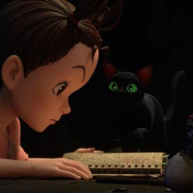 Studio Ghibli Earwig and the Witch CGI