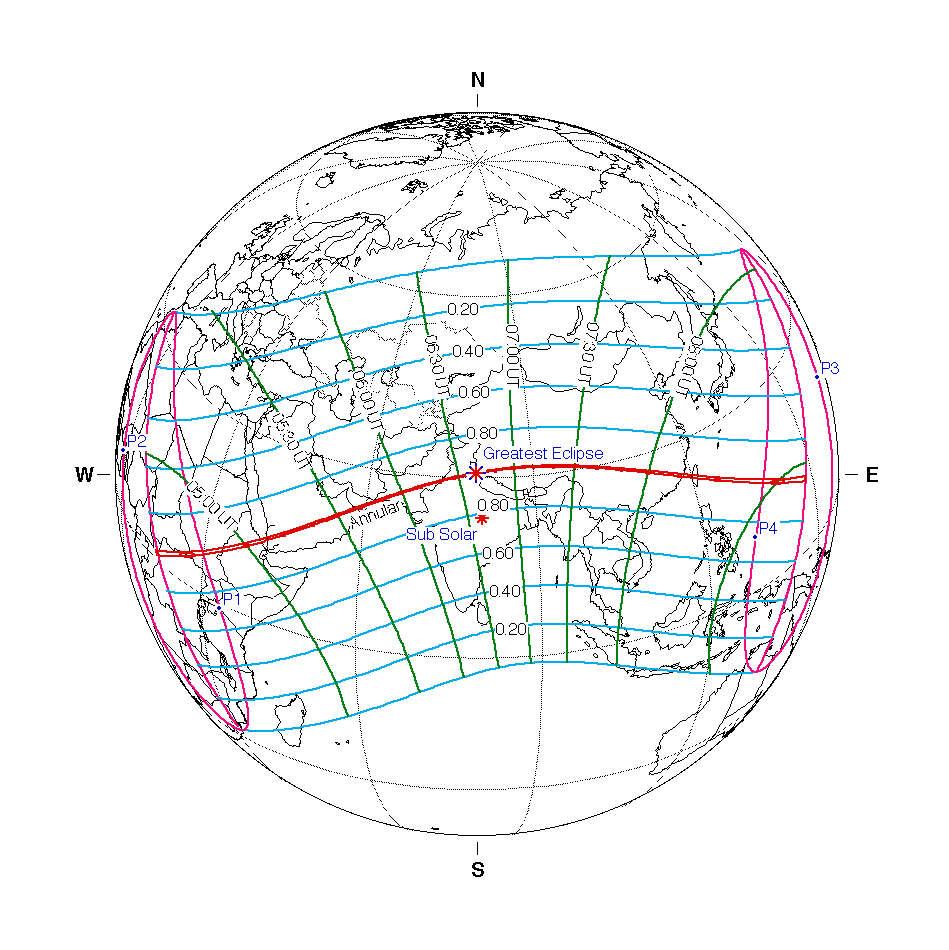 Eclipse solar anular 2020