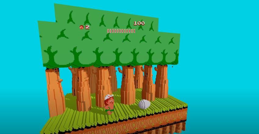 Adventure Island, Capulinita, Emulador NES, 3DSen Steam