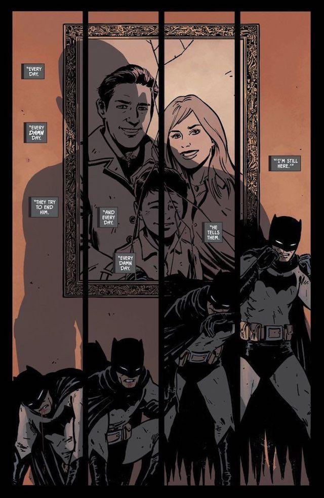 Batman, escrito por Tom King, ilustrado Jorge Fornés