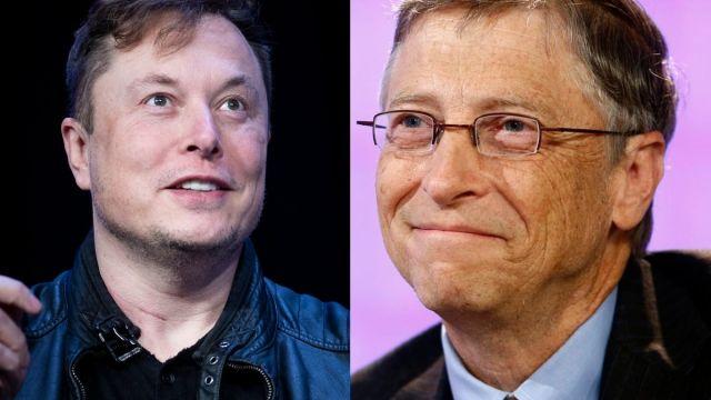 Bill Gates, Elon Musk, Coronavirus, Covid-19