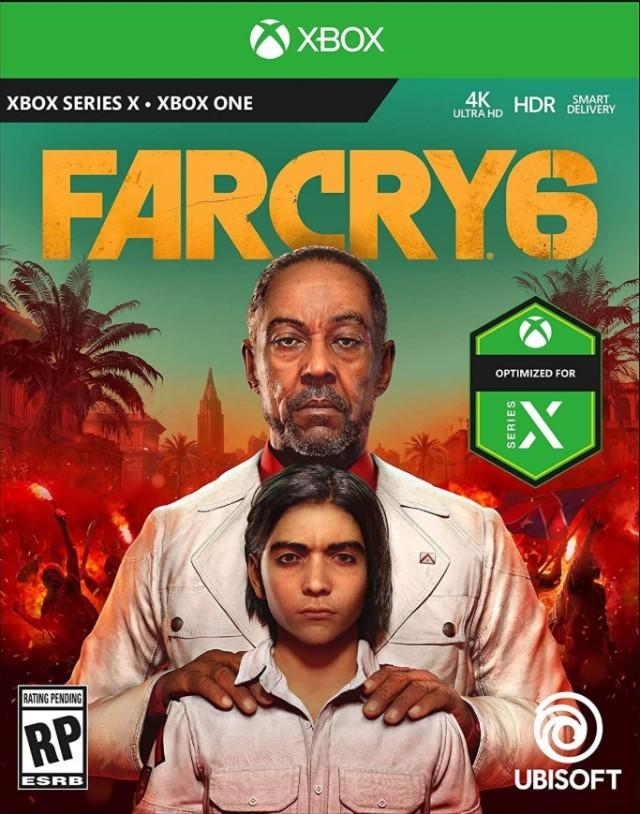 Cajas Juegos Xbox Series X Far Cry 6