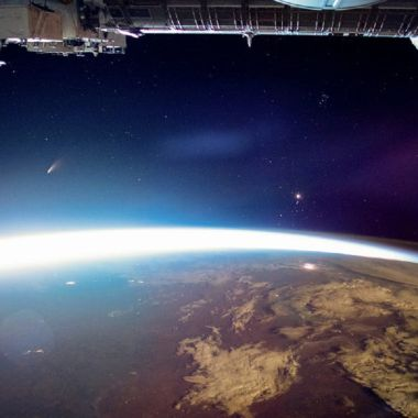 Cometa NeoWise Espacio NASA