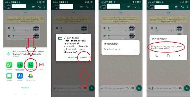 Convertir Audios de WhatsApp en Texto