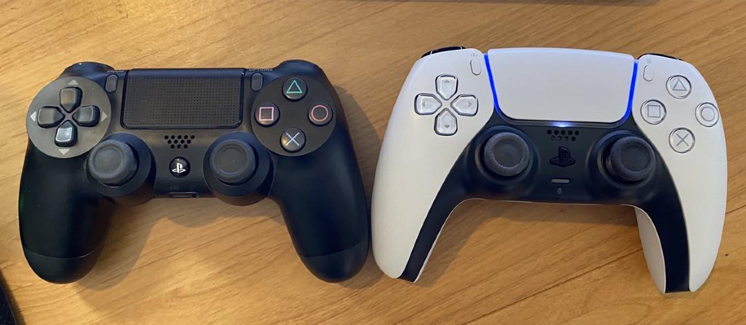 Dualshock 4 DualSense Controles