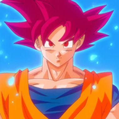 Goku Saiyajin Dios Dragon Ball Super