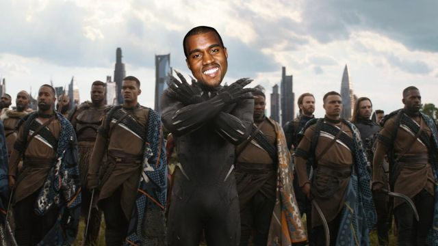 Kanye West Wakanda Estados Unidos