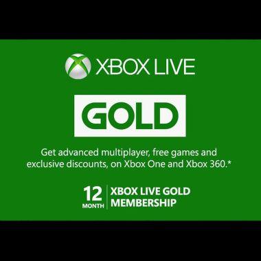 Microsoft eliminó las suscripciones de 12 meses a Xbox Live Gold