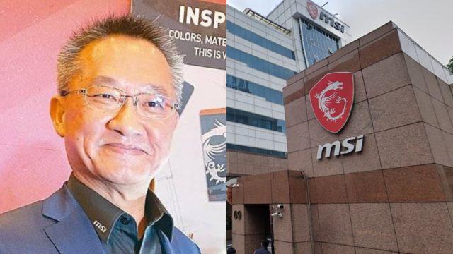 Muere Charles Chiang, CEO de MSI tras caer de edificio