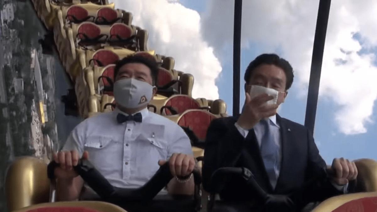 Prohíben gritar en montañas rusas para evitar contagios de COVID-19