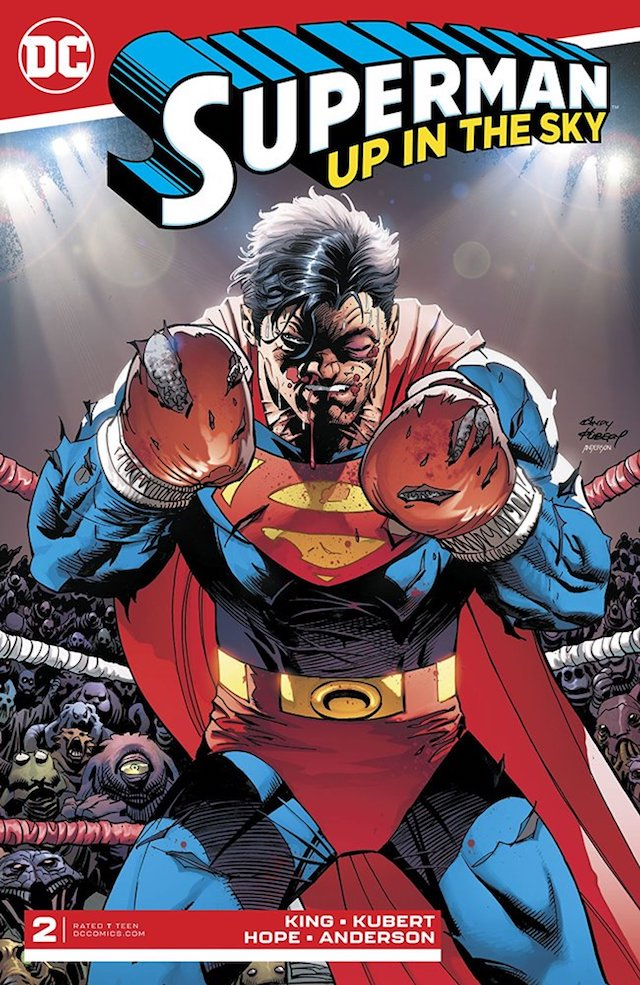 Superman, Guion Tom King, Trazos Andy Kubert