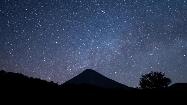 Volcan de Fuego Timelapse México
