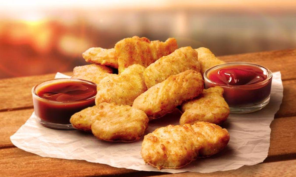 KFC: impresión en 3D nuggets hechos de pollo y plantas