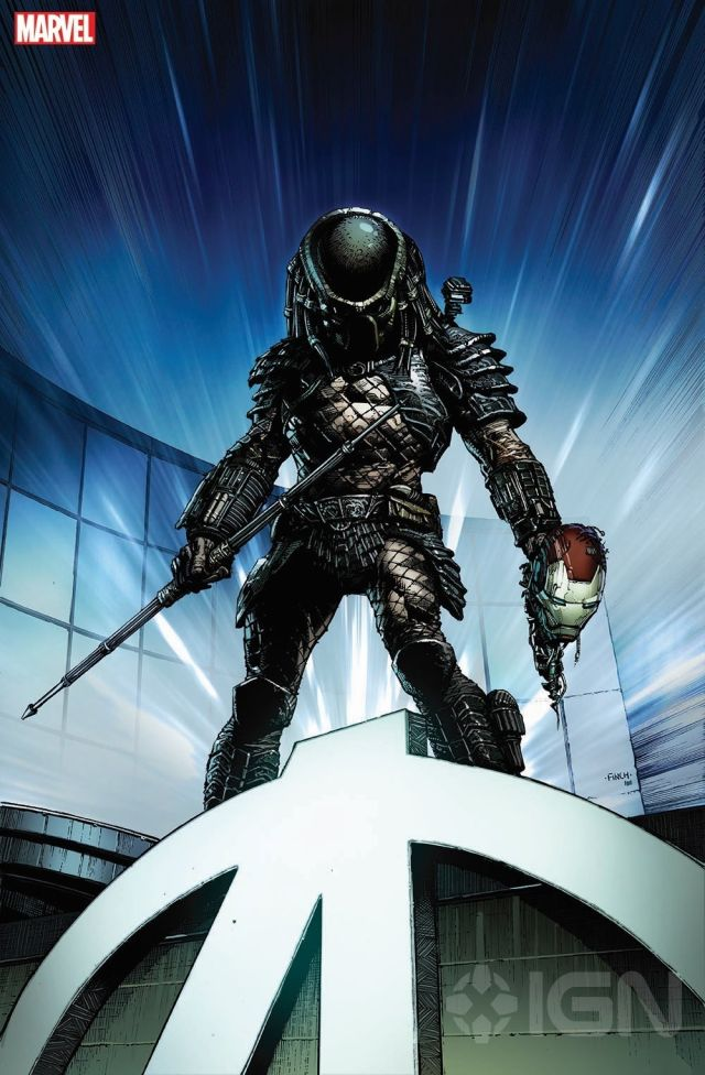Depredador Iron Man Marvel Comics