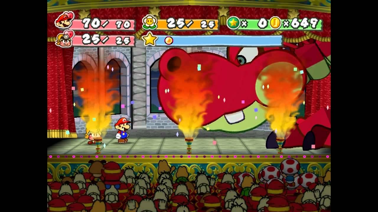 Paper Mario Thousand Year Door, Thousand Year Door Hooktail, Paper Mario