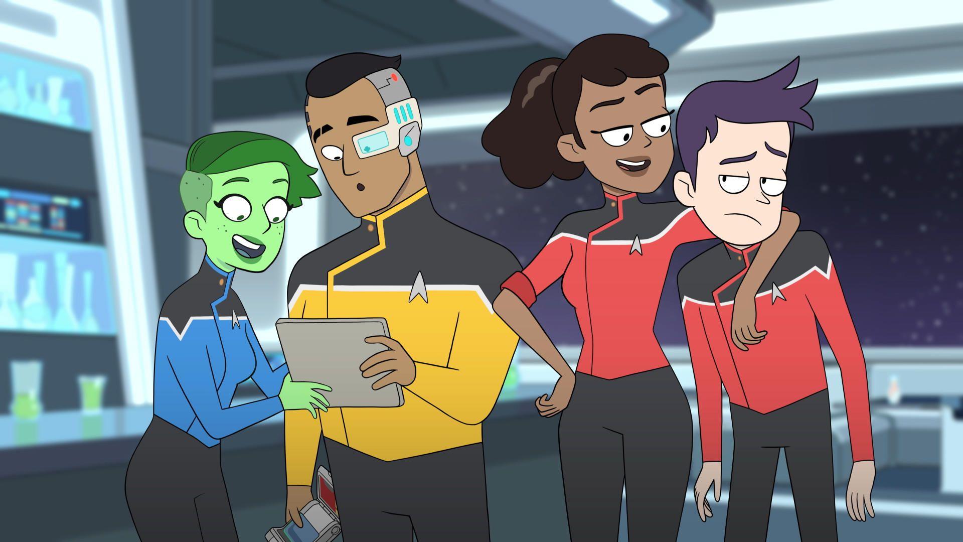 Star Trek Lower Decks, Star Trek, Star Trek Rick y Morty