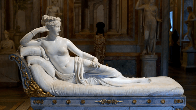 Antonio Canova escultura dañada