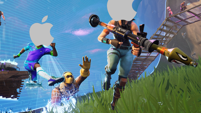 Apple quita Fortnite de la App Store