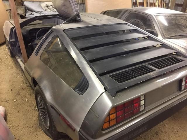 DeLorean Volver al Futuro Venta