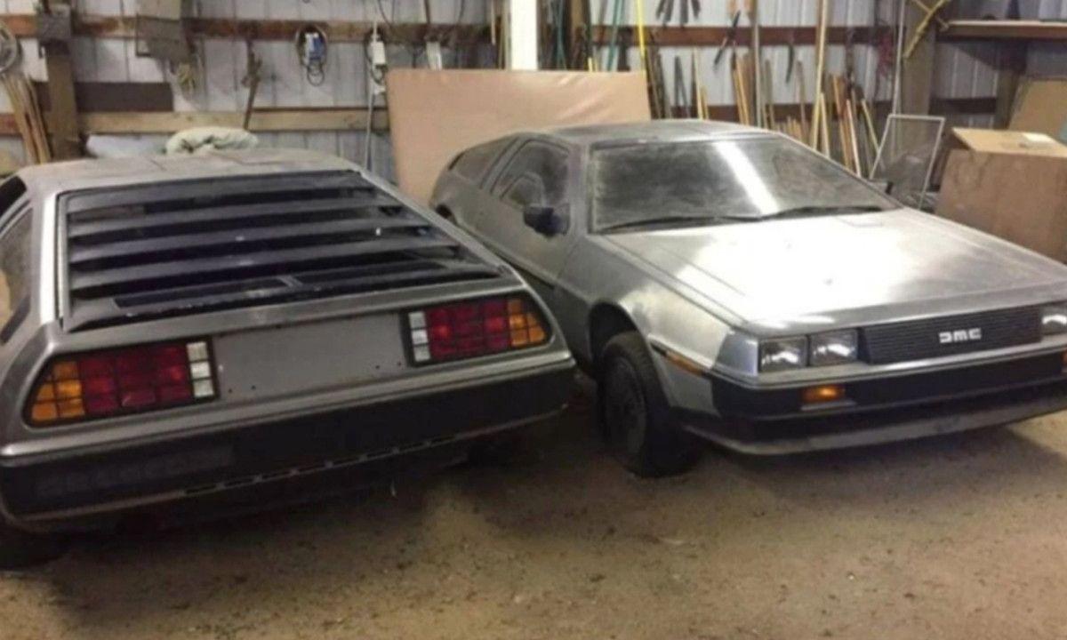 DeLorean Volver al Futuro