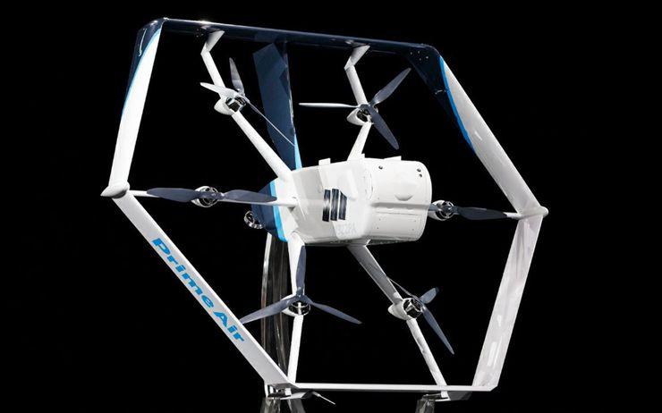 El nuevo dron Prime Air de Amazon