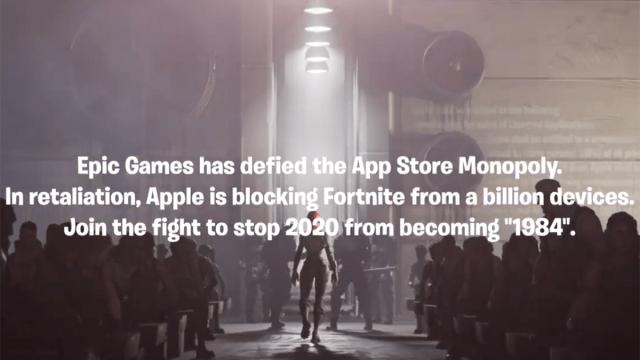 Epic Games demanda Apple por Fortnite