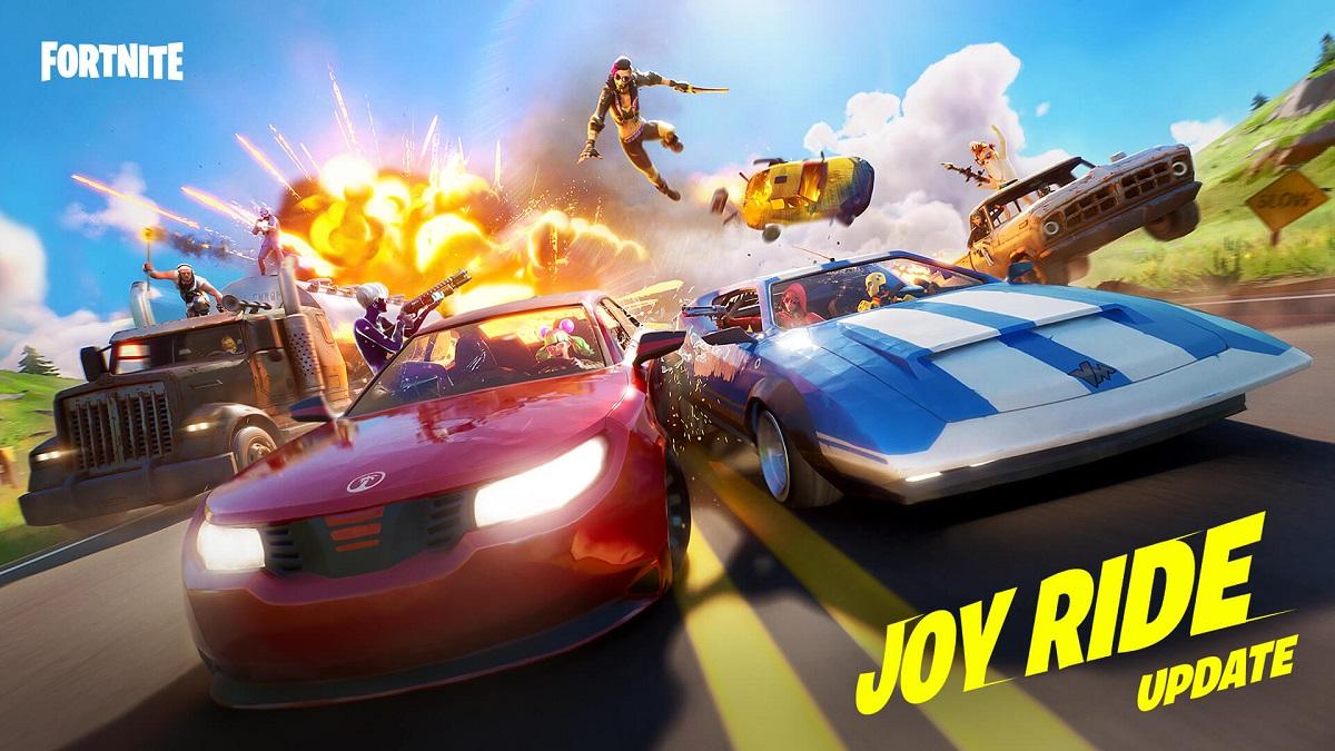 Fortnite Nueva Actualización Autos