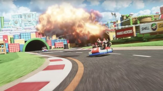 Mario Kart Super Nintendo World