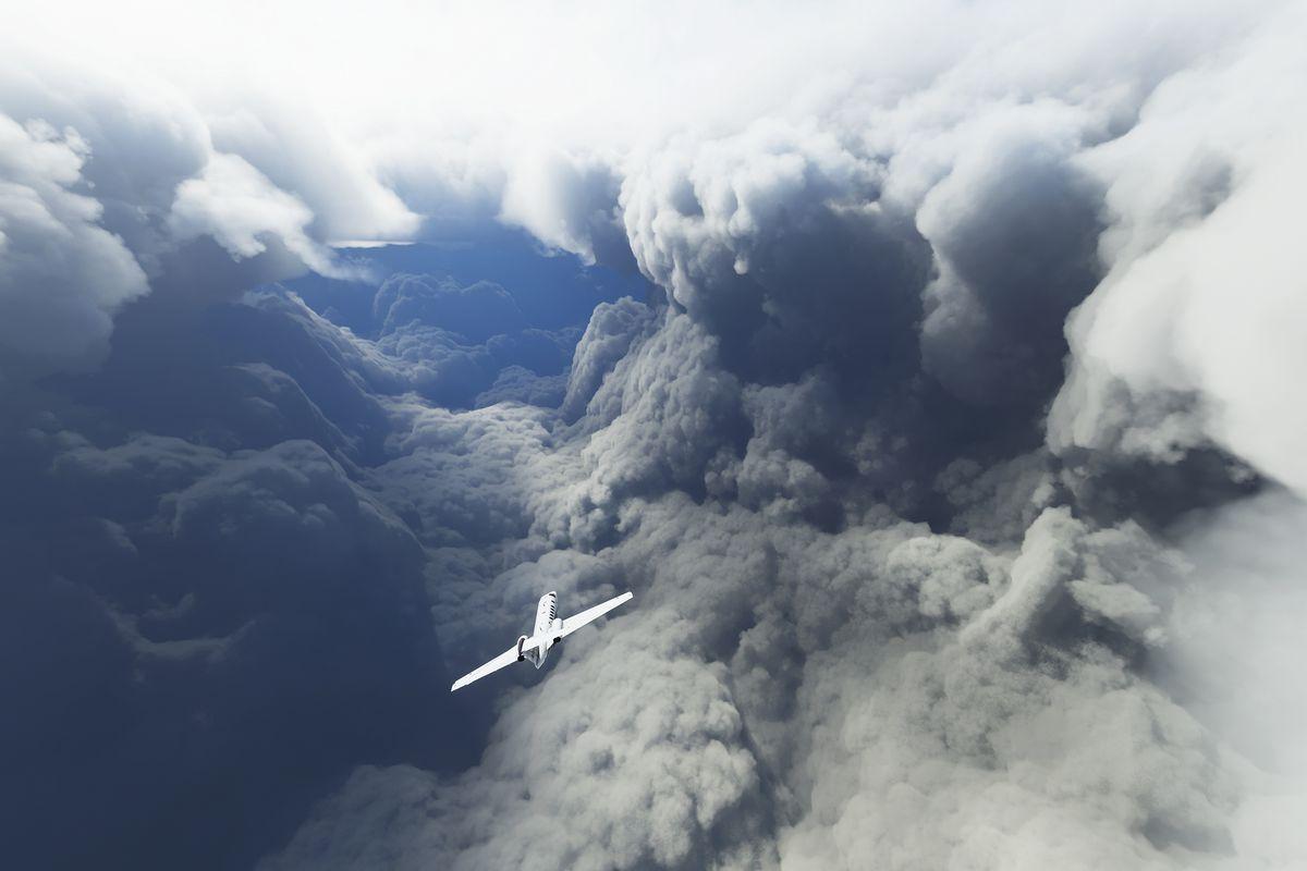 Microsoft Flight Simulator Huracanes