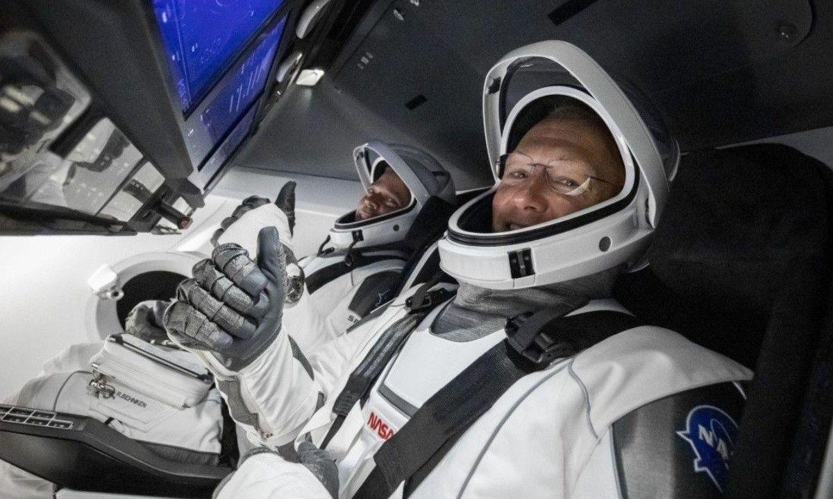 NASA SpaceX Crew Dragon
