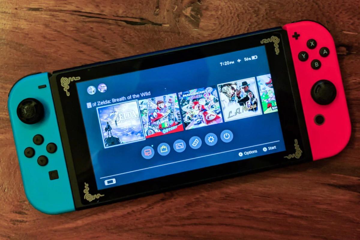 Nintendo Switch Pro 2021