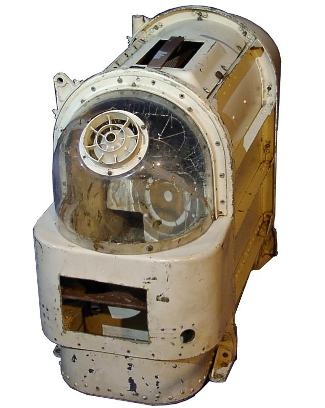 Cápsula espacial original en la que viajaban los perros en sus viajes orbitales y suborbitales.