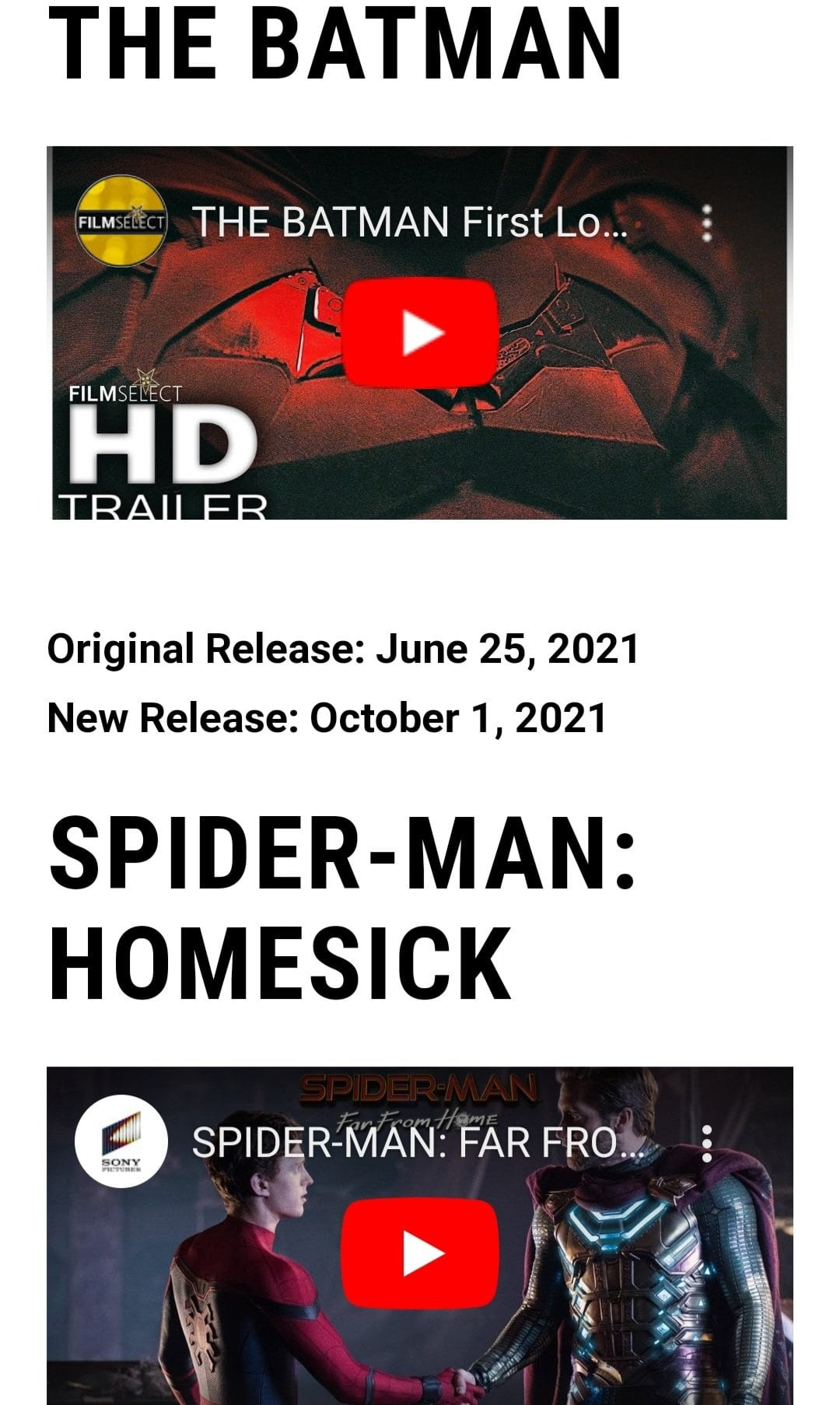Spider-Man 3 Spider-Man Homesick