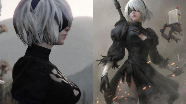 Este genial cosplay de 2B te hará querer jugar de nuevo NieR: Automata