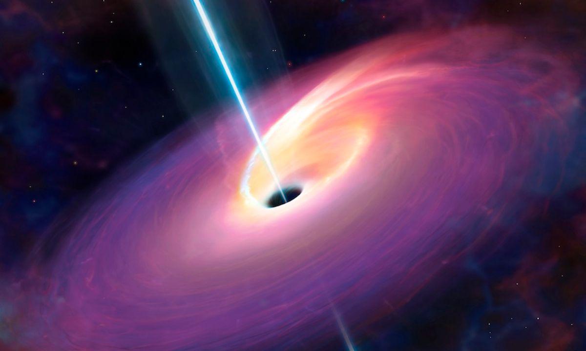 Latido de rayos gamma en agujero negro extraña a científicos