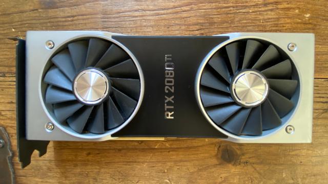 GPU Nvidia RTX 2080 Ti Founder's Edition