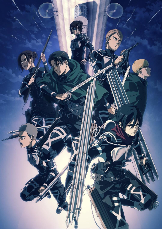 Attack on Titan Shingeki no Kyojin Temporada 4